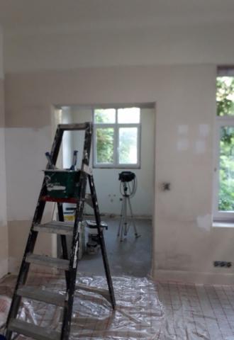 Peinture intérieur murale, renovation de sol