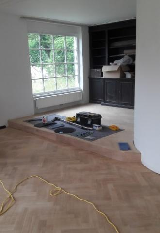 Rénovation de parquet